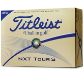 Titleist NXT Tour S Golf Ball