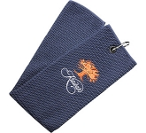 Birkdale Tri Fold Micro Velour Golf Towel  by Gopromotional - we get your brand noticed!
