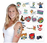 Temporary Tattoo  by Gopromotional - we get your brand noticed!