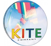 77mm Button Badge  by Gopromotional - we get your brand noticed!