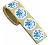 37mm Rolls Of Paper Sticker  by Gopromotional - we get your brand noticed!