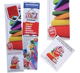 Coupon Perforated Bookmark  by Gopromotional - we get your brand noticed!