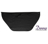 Dannys Wrap Over Waist Black Apron  by Gopromotional - we get your brand noticed!