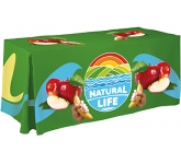 8ft Economy Table Cloth  by Gopromotional - we get your brand noticed!