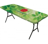 8ft Ultrafit Table Topper  by Gopromotional - we get your brand noticed!
