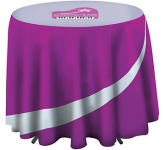 Cafe Height Round Tablecloth
