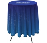 Cafe Bar Height Round Tablecloth  by Gopromotional - we get your brand noticed!