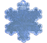 Snowflake Shaped Reflector  by Gopromotional - we get your brand noticed!