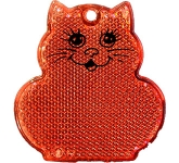 Cat Shaped Reflector  by Gopromotional - we get your brand noticed!
