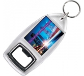 Acrylic Printed Keyring Bottle Opener  by Gopromotional - we get your brand noticed!
