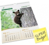 Economy Wall Calendar  by Gopromotional - we get your brand noticed!