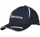 Babylon Crown Sandwich Cap  by Gopromotional - we get your brand noticed!