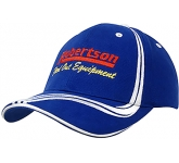 Alabaster Heavy Cotton Brushed Cap  by Gopromotional - we get your brand noticed!