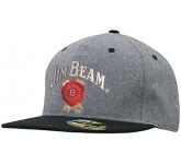 Adams Grey Marle Fannel Cap