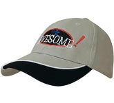 Alamo Heavy Cotton Brushed Cap  by Gopromotional - we get your brand noticed!