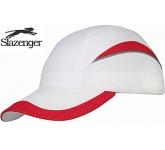 Slazenger Swoosh 6 Panel Mesh Edge Cap  by Gopromotional - we get your brand noticed!
