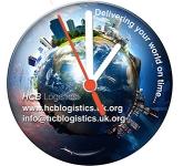Brite Desk Clocks Round  by Gopromotional - we get your brand noticed!