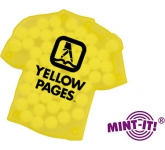 T-Shirt Shaped Mint Card  by Gopromotional - we get your brand noticed!