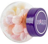 Micro Side Glass Sweet Jars - Fruit Sweets
