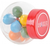 Micro Side Glass Sweet Jars - Gum Balls