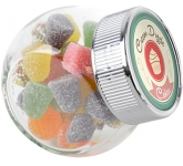 Mini Side Glass Sweet Jars - Tum Tums