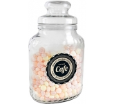Classic Glass Sweet Jars - Fruit Sweets