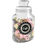 Classic Glass Sweet Jars - Liquorice Allsorts  by Gopromotional - we get your brand noticed!