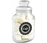 Classic Glass Sweet Jars - Marshmallows
