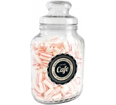 Classic Glass Sweet Jars - Peppermint Pillows