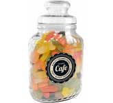 Classic Glass Sweet Jars - Wine Gums