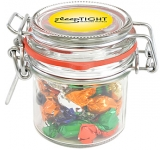 Clip Top Glass Sweet Jars - Boiled Sweets