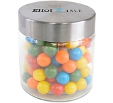 Small Screw Top Glass Sweet Jars - Gum Balls