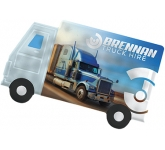 ColourBrite Lorry Shaped Mint Card