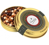 Christmas Gold Caviar Treat Tin - Special Edition Chocolate Pearls