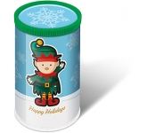 Christmas Mini Sweet Tubes - Elf Gourmet Jelly Beans