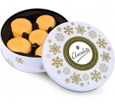 Christmas Snowflake Share Tins - All Butter Shortbread Biscuits