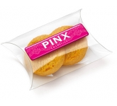 Large Snack Pouches - Shortbread Biscuits  by Gopromotional - we get your brand noticed!