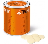 Large Sweet Paint Tins - White Chocolate Buttons  by Gopromotional - we get your brand noticed!