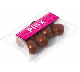 Large Sweet Pouches - Milk Chocolate Malt Balls  by Gopromotional - we get your brand noticed!