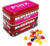 London Bus Sweet Tins - Gourmet Jelly Beans  by Gopromotional - we get your brand noticed!