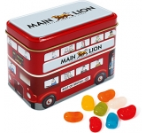 London Bus Sweet Tins - Jelly Beans  by Gopromotional - we get your brand noticed!