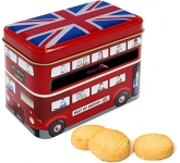 London Bus Tins - Original Scottish Mini Shortbread  by Gopromotional - we get your brand noticed!