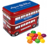 London Bus Sweet Tins - Skittles  by Gopromotional - we get your brand noticed!