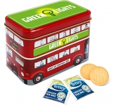 London Bus Tins - Tea & Biscuits