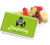 Maxi Rectangular Sweet Pots - Jelly Babies  by Gopromotional - we get your brand noticed!