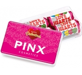 Maxi Rectangular Sweet Pots - Love Heart  by Gopromotional - we get your brand noticed!