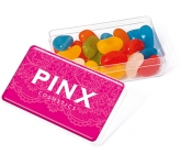 Maxi Rectangular Sweet Pots - Jelly Beans  by Gopromotional - we get your brand noticed!