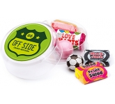 Maxi Round Sweet Pots - Retro Sweet  by Gopromotional - we get your brand noticed!