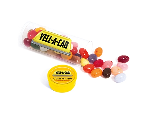 Midi Clear Sweet Tubes - Gourmet Jelly Beans