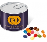 Mini Ring Pull Sweet Tins - Gourmet Jelly Beans  by Gopromotional - we get your brand noticed!